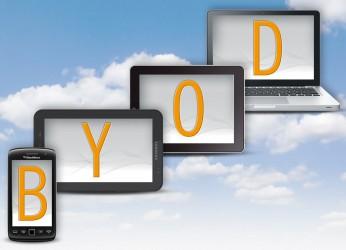 Selon une étude récente, l'adoption du BYOD connaît une forte croissance dans certains secteurs.