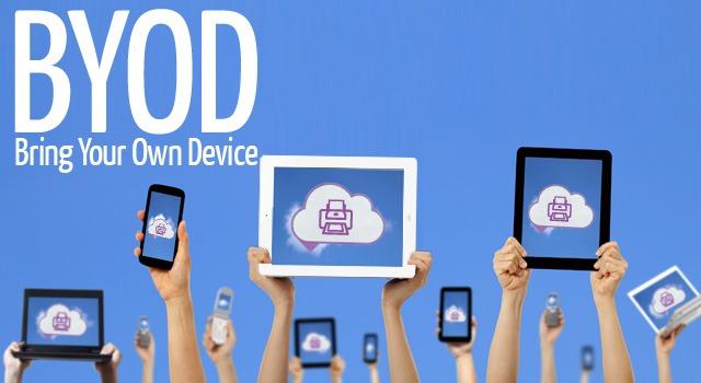 L'invasion de la tendance BYOD